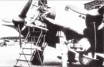 Несколько «крупнокалиберных» самолетов проходили испытания на предмет использования в качестве ночных истребителей-перехватчиков. Одним из таких самолетов был Ju-88P-3, вооруженный парой подвижный 30-мм пушек Х1К- 103, самолет оказался недостаточно скоростным для использования в качестве истребителя.