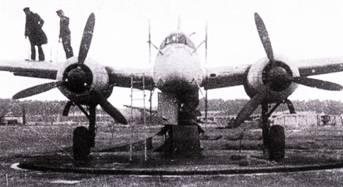 Выполнение девиации компаса самолета Ju-88G-I. Самолеты Ju-88G-I оснащались звездообразными двигателями воздушного охлаждения BMW-801.