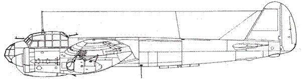 Junkers 88 А-2 под крыльями – ракетные ускорители