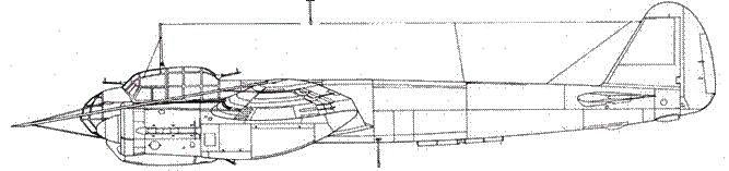 Junkers 88 А-6 с противоаэростатной системой