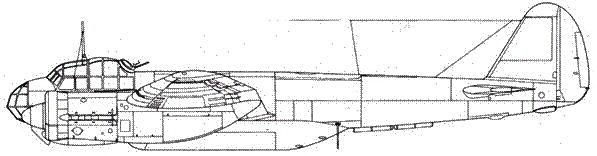 Junkers 88 А-15 с расширенным бомботсеком и прицелом Lotfe