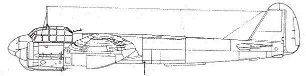 Junkers 88 С-6 дневной истребитель