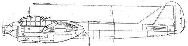 Junkers 88 С-6 ночной истребитель с радаром FuG 202 Lichtenstein