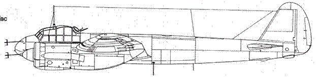 Junkers 88 С-6 ночной истребитель с радаром FuG 212 Lichtenstein C1