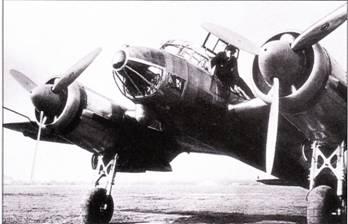V3 – первый Ju-88 с двигателями JUMO- 211 и удлиненным фонарем кабины пилота, хотя носовая часть фюзеляжа осталась конусообразной. В блистере под носовой частью фюзеляжа установлен бомбардировочный прицел. Первый полет третий прототип выполнил 13 сентября 1937 г.