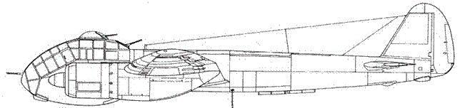 Junkers 88 Е-0 вариант В-0 с оборонительной башенкой вверху кабины