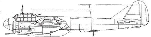 Junkers 88 Р-2 с двумя пушкамиBK 3.7 калибра 37-мм
