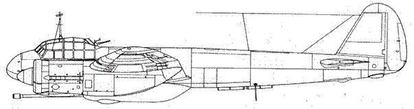 Junkers 88 Р-4 с пушкойBK 5 калибра 50-мм