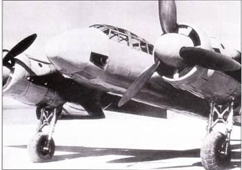 V5 – специальная рекордная машина. Носовая часть фюзеляжа аэродинамически облагорожена, высота фонаря кабины пилота уменьшена, отсутствует подфюзеляжная гондола. Оснащенный двигателями JUMO-21IB пятый прототип выполнил первый полет 13 апреля 1938 г.
