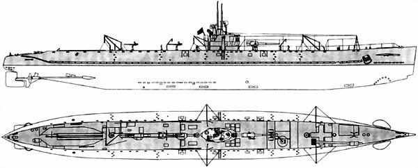 Д. Транспортные подводные лодки флота