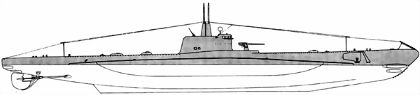 Ж. Подводные лодки иностранной постройки
