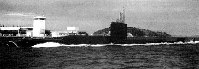 SSN-683 покидает Гавайские острова. Лодка «Парч» пришла пи смену «Хэлибату» в проведении тайных операций, в настоящее время «Парч» заменен суперсовременных атомоходом специального назначения SSN-23 «Джимми Картер».