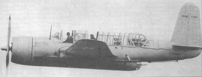 Самолет Vought XTBU-1 Sea Wolf был конкурентом XTBF-1 в ходе разработки торпедоносца-бомбардировщика для US Navy. Компания Vought была сильно загружена разработкой истребителя F4U Корсар, и проект TBU был продан фирме Consolidated. До окончания войны было произведено только 189 этих самолетов под обозначением TBY-2. Предполагалась развернуть за границей две эскадрильи, оснащенные TBY-2S.