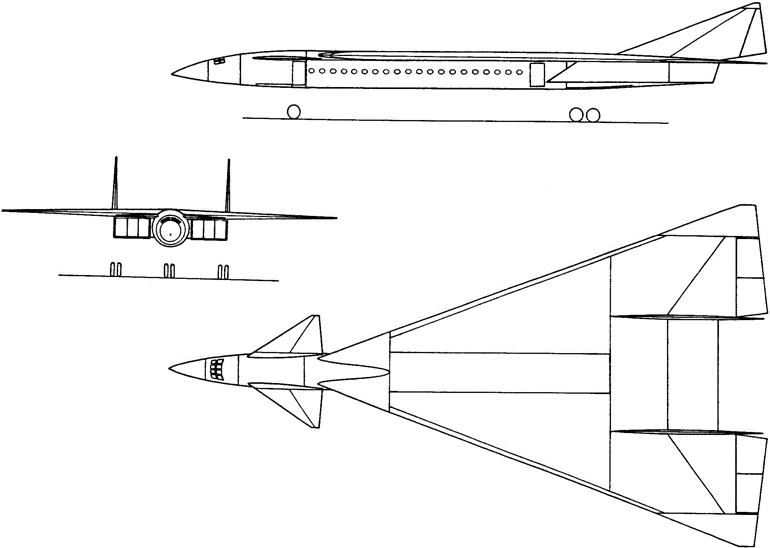Проекты грузовых и пассажирских самолетов