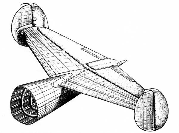 Техническое описание самолета Ер-2 2М-105