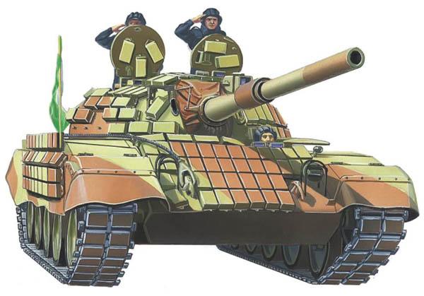 ИРАНСКИЙ ОСНОВНОЙ БОЕВОЙ ТАНК SAFIR-74