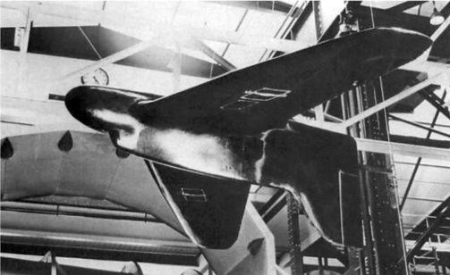 Модель предшественника реактивных DFS 194 с поршневым двигателем был тщательно протестирован в аэродинамической трубе в Геттингене в период с мая 1937 года и июле 1938 года. Эта модель имела формы похожие на DFS 39.