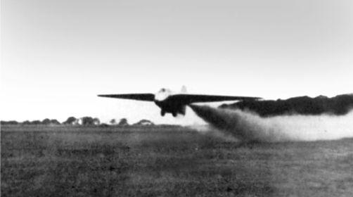 Взлетает DFS 194, Пенемюнде, 16 октября 1939г.