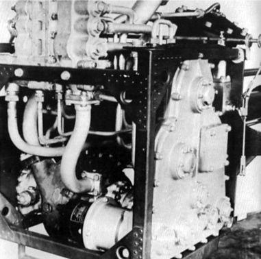 Двигатель HWK 109-509A вид спереди.
