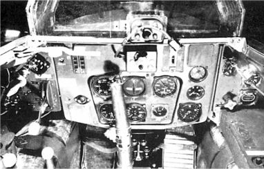 Кабина Me 163B.