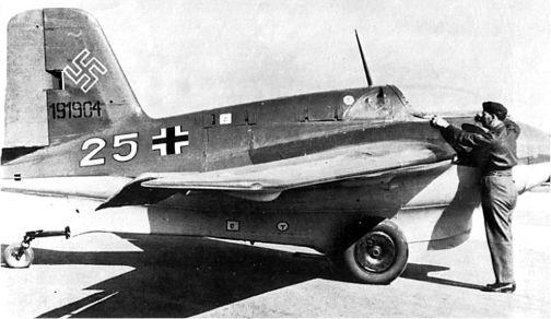 Me 163В-1 с серийным номером 191904.