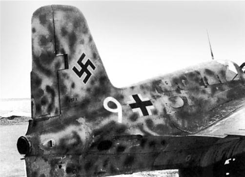 Me 163B V53 пилотируемый Куртом Шибелером, 4 августа 1944г.