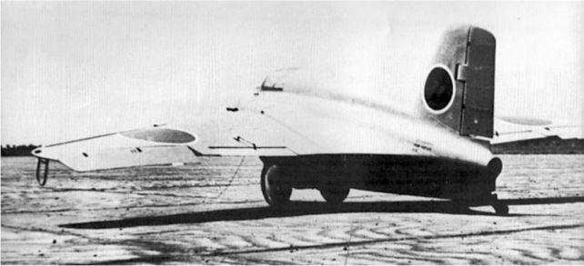 Японская версия Me 163B, Mitsubishi J8 Ml Shusui. Самолет получил двигатель в середине 1945г.