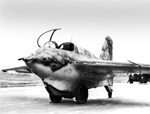 Me 163B Wk-Nr. 190598.