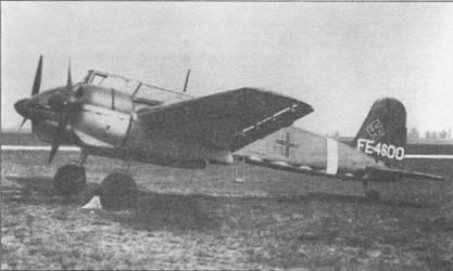 Штурмовик Hs-129 В-2 W.Nr. 0385 был брошен в исправном состоянии на аэродроме Тоубакюр в Северной Африке, Тунис, 1943 г. Самолет был переправлен на американскую авиабазу Райт-Филд, шт. Огайо, для проведения летных испытаний. Первоначально на вертикальное оперение нанесли регистрационный код ЕВ-105 (Evaluation Branch – испытательная партия), но потом его заменили на FE-4600 (Foreign Evaluation). Самолет потерпел аварию 24 июля 1946 г., после чего его утилизировали, бронекапсула попала к частному коллекционеру из Австралии.