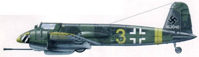 Этот Hs 129В-3 из 14(Pz)./SG 9 был потерян в Венгрии 3 января 1945 г.