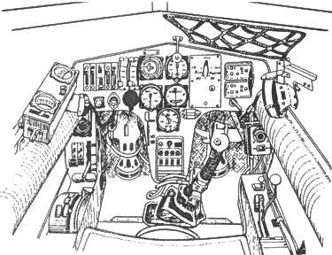 Кабина пилота Hs 129А-0
