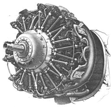 Двигатель Гном- Рон 14М