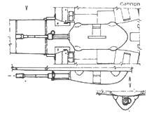 B-1 /R2 – 30mm kanon MK 101 30mm
