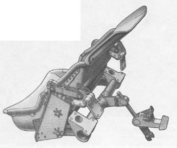 Конструкция кресла пилота