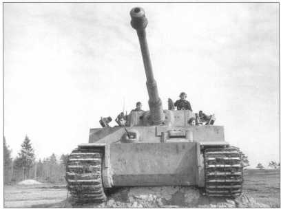 Pz.Kpfw.VI(H) за номером «2». Весна 1943 года.