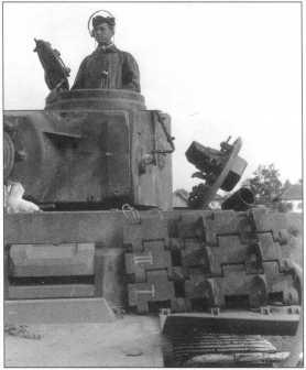 Pz.Kpfw.VI(H) в боях на Курской Дуге. Июль 1943 года.