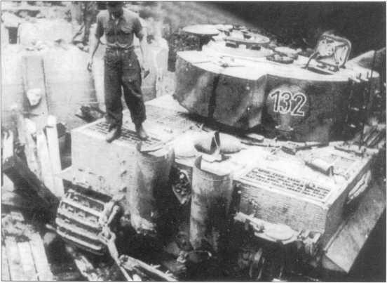 «Тигр I» номер «132». Лето 1944 года.