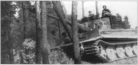 Pz.Kpfw.VI Ausf.E «Тигр I» позднего выпуска. Польша, осень 1943 года.