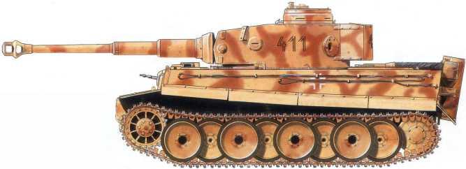 Pz.Kpfw.VI(H) 4-й танковой роты 1-й танковой дивизии СС«Лейбштандарт СС АдольфГитлер». Советско-германский фронт, май 1943 года.