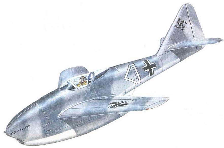 Истребитель Р1092/2 с одним ТРД