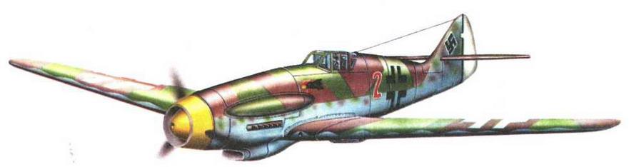 Высотный истребитель Me 155В