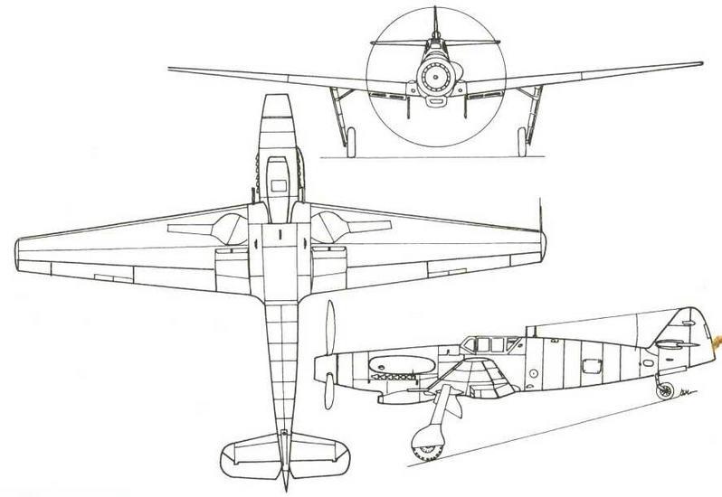 Мессершмитт Me 155В