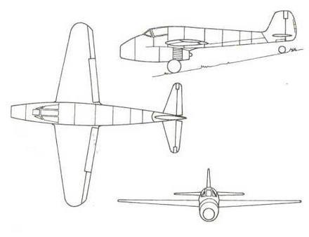 Первый проект истребителя завоевания господства в воздухе фирмы «Фокке-Вульф»