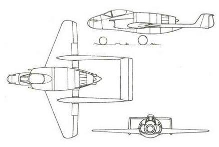 Четвертый проект фирмы «Фокке-Вульф», декабрь 1943 г.