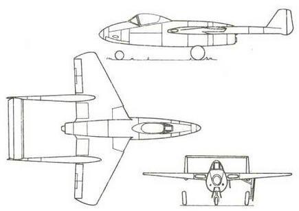 Шестой проект фирмы «Фокке-Вульф» февраля 1944 г., родоначальник «Флитцера»