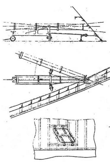 "Броненосец ""Девастасьон"". 1886 г. (Схема расположения бортового <a href='https://arsenal-info.ru/b/book/3977928548/11' target='_self'>торпедного аппарата</a>)"
