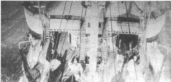 """На броненосце """"Курбэ"""". 1890-е гг."""
