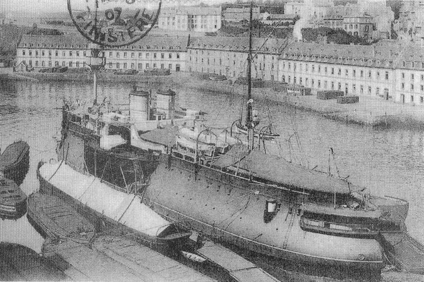 "Броненосец *Деаастасьон"" после модернизации 1898 г."