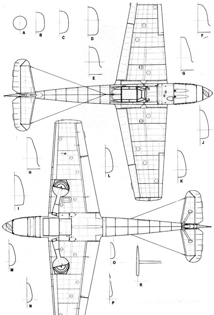 Bf.109В-2(первых серий)