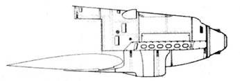 Вариант капота Bf.109B-2 (последних серий)